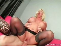 sinful mom receives slit hammered