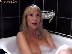 hawt mommy bridgette drilled in bathroom