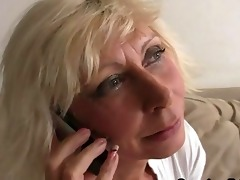 older widow enjoys new schlongs