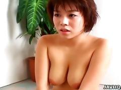 hot mai haruna enjoying three-some hot perverted