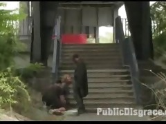 outdoor sadomasochism euro public milf villein
