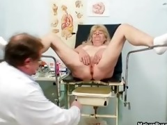 blond grandma acquires her juicy love tunnel part7