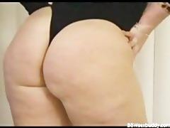 nasty big beautiful woman got a large ass