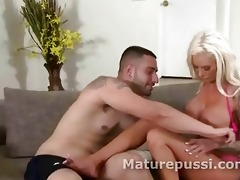 hawt milf picked up and nude down to show her