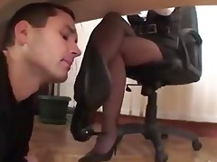 wicked boss mom acquires feet worship