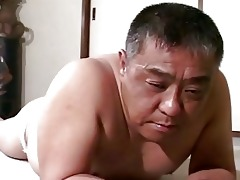 older oriental chap acquires thrashing