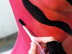 the pleasure of body painting