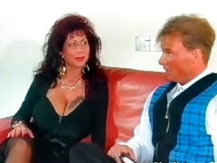 nice-looking mega boobed mature floozy acquires