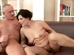 bulky grandma enjoying wicked sex