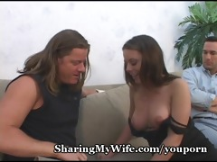 wife hungry for three-some recent penis