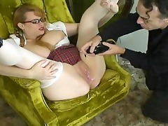 kore female-dominant schoolgirl squirt and anal -