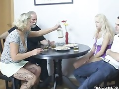 amoral parents fuck their sons gf