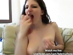 d like to fuck sabrina receives cunt juice whilst