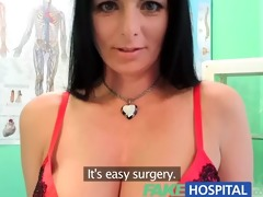 fakehospital breasty hawt mother i acquires