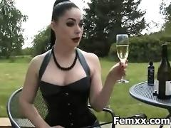 femdom fetish for perverted chick