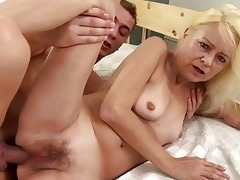 lewd granny receives screwed unfathomable in her