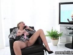 vagina toying stocking mother i