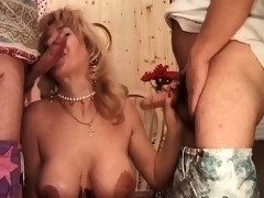 large rods and belt on enjoyment for sexy milfs