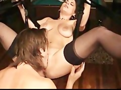 large titted non-professional group-fucked in a