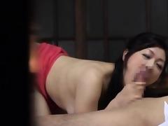 hawt asian d like to fuck receives lewd engulfing