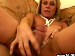 bimbo cougar is enjoyable a dick