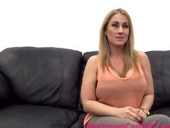 large tit milf excellent anal casting