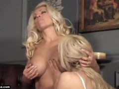 mother i lana gives chick glass fake penis for