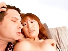 massive teats oriental getting screwed hard