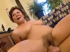 corpulent mama with curly vagina