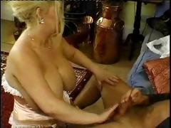 granny overweight big breasts