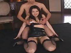sae mizuki hot oriental doll in sexy bukkake