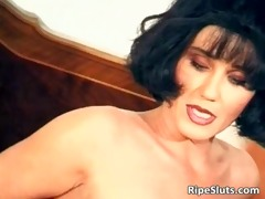 gorgeous aged brunette hair fuck her juicy