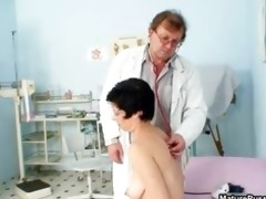 slutty aged mama receives a fully body exam part8