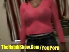 72 year old dark barbie 46ddd copulates arab dude