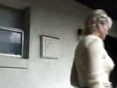ribald older whore bangs and sucks bbc