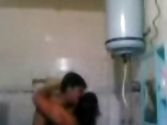 indian aged pair fucking very hard in bath