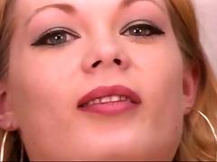 mature leggy blond spreads her beautiful vagina