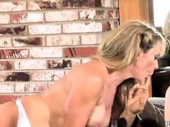 fortunate spouse nailing slutty wife and whilst