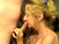 blonde aged wife t live without goo