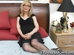 blonde d like to fuck in glasses licking hard