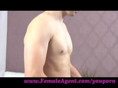 femaleagent. fresh d like to fuck agent loves it