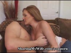 pathetic hubby shares hot wife