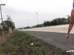 public nudity on roads