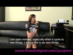 femaleagent. nice-looking and game for everything