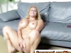 aged big beautiful woman acquires a double facial