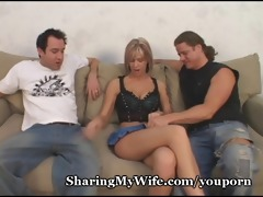 hot pair asks for recent dick for wife