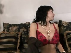 breasty hose fingering mother i