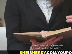 she is is nerdy - the sex geometry
