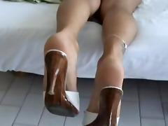feet my wife