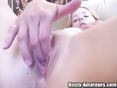 gabriella is in the mood to masturbate and there